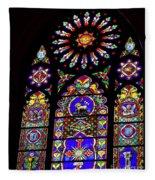 Stained Glass Beauty #46 Fleece Blanket