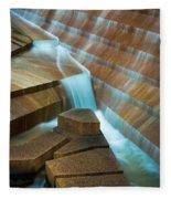 Staircase Fountain Fleece Blanket