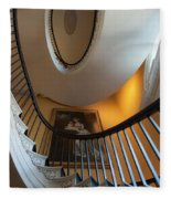 Stairs To The Top Fleece Blanket