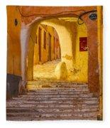 Stairway Inside Beni Isguen Fleece Blanket