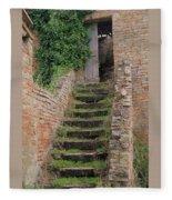 Stairway Less Traveled Fleece Blanket