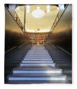 Stairway To Knowledge Fleece Blanket
