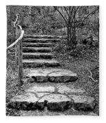 Stairway To Nature Fleece Blanket