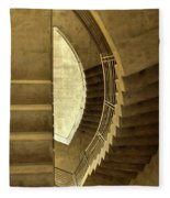 Stairway To Nowhere Fleece Blanket