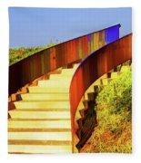 Stairway To... Fleece Blanket