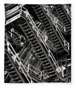 Stairwell Hell Fleece Blanket