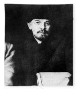 Stalin, Lenin & Trotsky Fleece Blanket