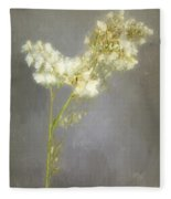 Stalk Of Pearls Fleece Blanket