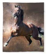 Stallion Fleece Blanket