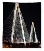 Stan Musial Veterans Bridge Fleece Blanket