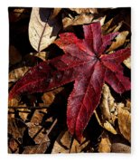 Stand Out In The Crowd Fleece Blanket