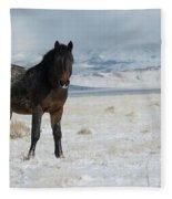 Stand Still  Fleece Blanket