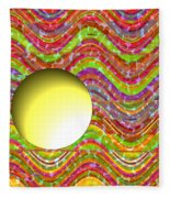 Standing Out From The Crowd Fleece Blanket