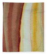 Standing Race Original Painting Fleece Blanket