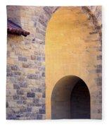 Stanford Arches Fleece Blanket