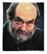 Stanley Kubrick Fleece Blanket