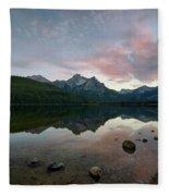 Stanley Lake Fleece Blanket