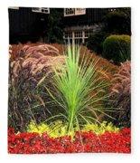Stanley Park Gardens Fleece Blanket