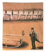 Stanleys Portable Boat Fleece Blanket