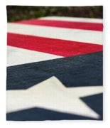 Star And Stripes Fleece Blanket