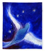 Star Bird Fleece Blanket