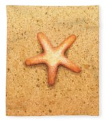 Star Fish Fleece Blanket
