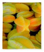 Star Fruit Fleece Blanket