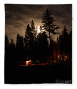 Star Lit Camp Fleece Blanket