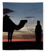 Star Of Bethlehem Fleece Blanket
