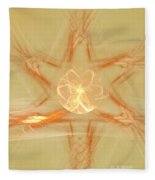 Star Of New Beginnings Fleece Blanket