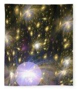 Star Particles Fleece Blanket