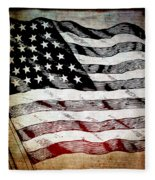 Star Spangled Banner Fleece Blanket