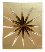 Star Tan Fleece Blanket