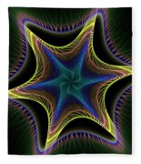 Star Twist Spiral Fleece Blanket