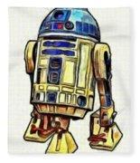 Star Wars R2d2 Droid - Da Fleece Blanket