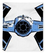Star Wars Tie Fighter Advanced X1 Fleece Blanket
