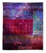 Stardust Periodic Table Fleece Blanket
