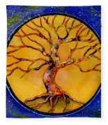 Stardust Tree Fleece Blanket