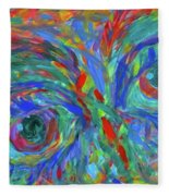 Stare Stage  Fleece Blanket