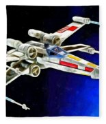 Starfighter X-wings - Da Fleece Blanket