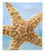 Starfish Close-up Fleece Blanket