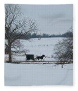 Stark Winter Buggy Fleece Blanket
