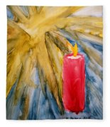 Starlight And Candlelight Fleece Blanket