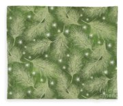 Starlight Christmas Viii Fleece Blanket