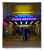 Starring Jimmy Fallon Fleece Blanket