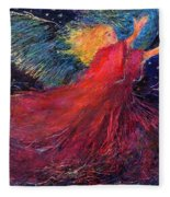 Starry Angel Fleece Blanket
