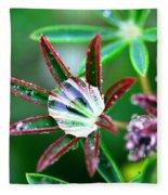 Starry Droplets Fleece Blanket