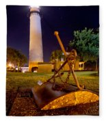 Starry Night Big Light Fleece Blanket
