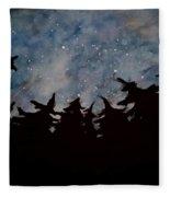 Starry Sky Fleece Blanket