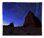 Stars Above The Moon Fleece Blanket